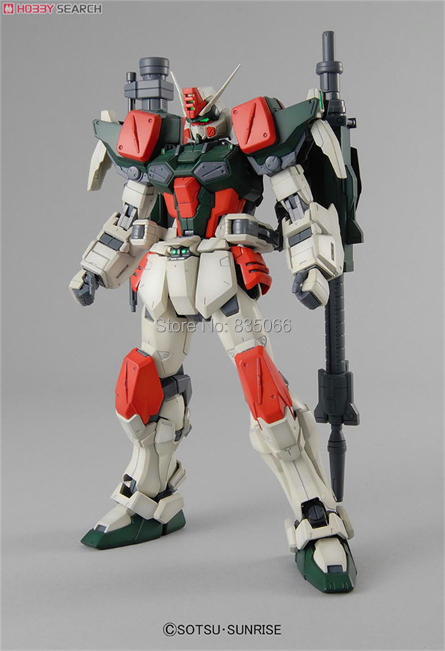 DABAN Japanese anime figures Master Grade Gundam 1/100 MG Buster GAT-X103 robot action figure plastic model kits toys - R,Y boutique Toy Store store