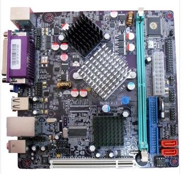 ORIGINAL NEW ATOM N270 1.6g MINI-ITX POS motherboard<br><br>Aliexpress