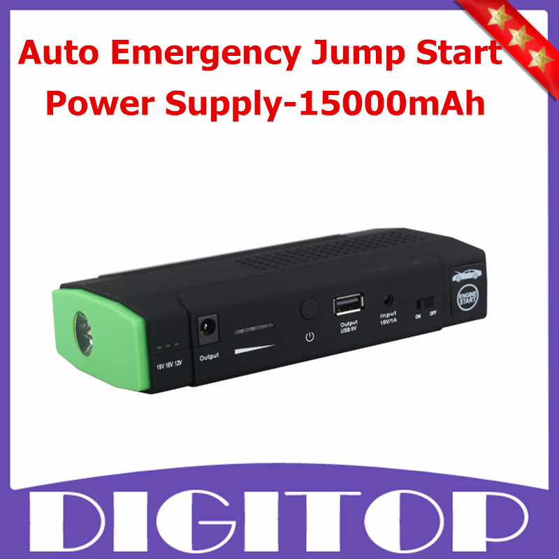 Multi-Function Auto Emergency Jump Start Power Supply-15000mAh For Car/Computer/PSP/Phone/Ipad Free Shipping<br><br>Aliexpress