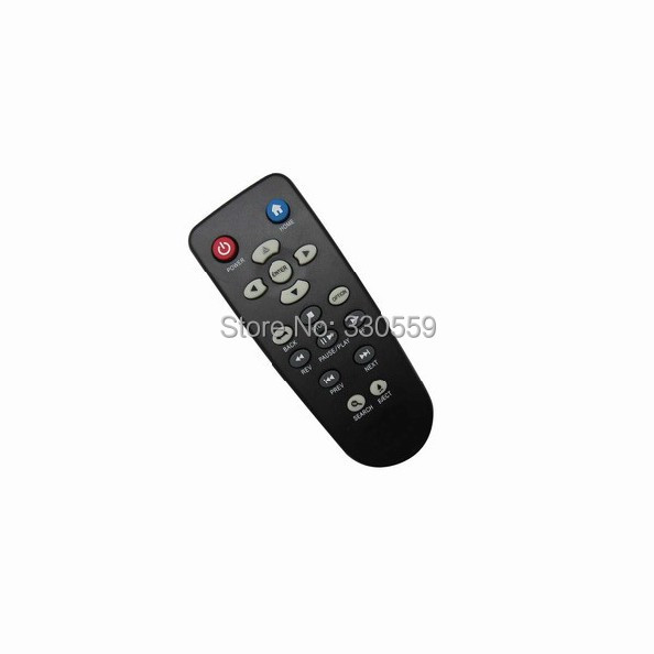 Remote Control Fit For Western Digital WDAVN00BN WDBAAL0000NBK WD TV Live WDTV Media Player(China (Mainland))
