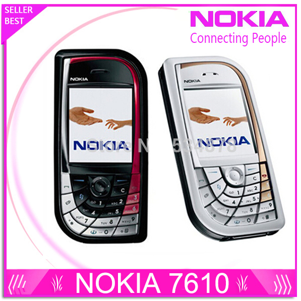 Refurbished Nokia 7610 original mobile phone Good quality low price cell phones free shipping(China (Mainland))