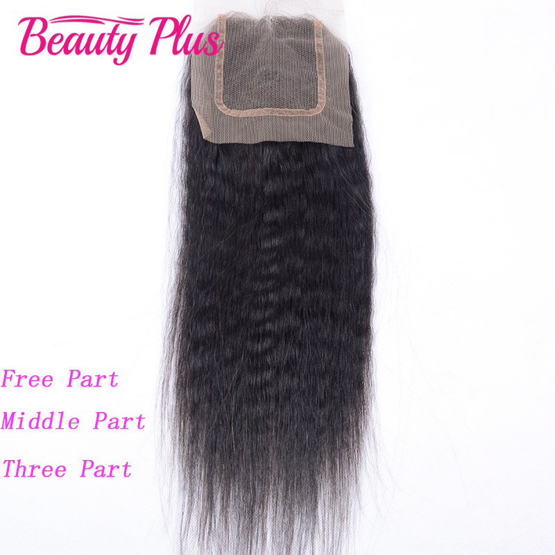 Peruvian Virgin Hair Yaki Straight Lace Closure 4x4 100% Unprocessed Human Hair Closure Coarse Itali Yaki Straight Lace Closure<br><br>Aliexpress