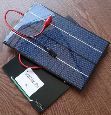 4.2W 18V Mini Solar Panel Module Solar System Epoxy Cell Charger DIY<br>