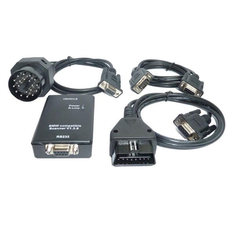 Car Fault Scanner PA Soft V1.36  Interface Works On Android Diagnostic Tool Code Reader Black for BMW Car Diagnostic Scanner<br><br>Aliexpress