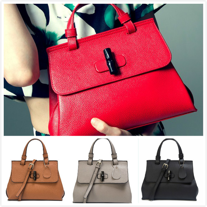 Perfect new brand bamboo bag womens handbag 2015 autumn and winter for daily wings bag shoulder bag cross-body handbag trapeze<br><br>Aliexpress