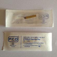 Free shipping 50Pcs Superior Blades For Permanent Makeup Manual Pen Single Packaged No.12(China (Mainland))