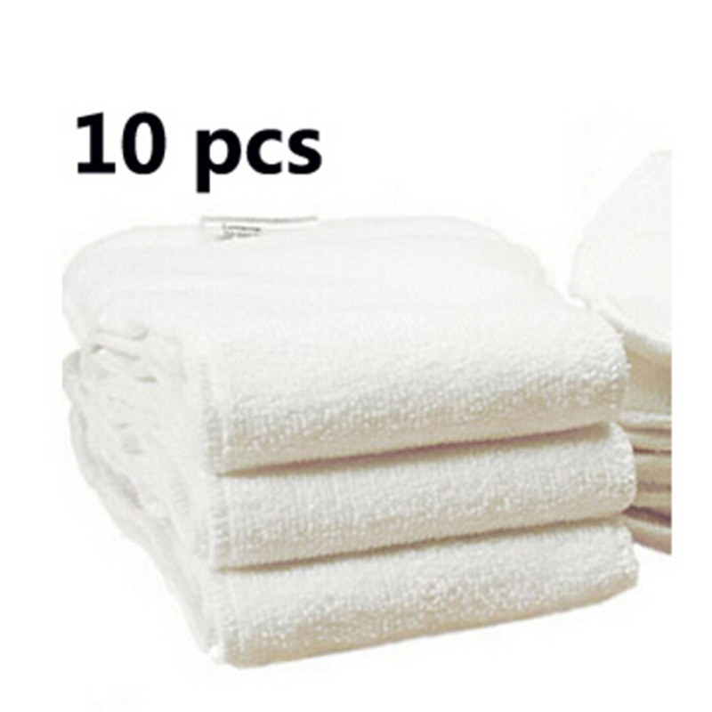 Free shipping 10pcs Washable reuseable Baby Cloth Diapers Nappy inserts microfiber 2 layers Soft and Breathable Modern Cloth