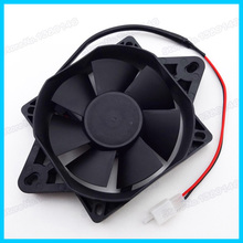 New Electric Radiator Cooling Fan For Chinese 110cc 125cc 200cc 250cc Quad ATV Go Kart Buggy(China (Mainland))