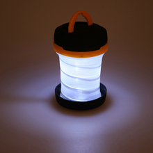 Buy Outdoor Portable Foldable LED Lantern Light Camping Tent Light Fishing Hiking Battery Lamp Light Torch Camping Accessories for $5.55 in AliExpress store