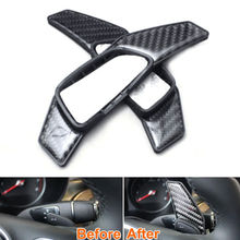 Buy Carbon Fiber Steering Wheel Shifter Extension Paddle Cover Trim Fits Benz W205 C250 BK C300 C180 C200 GLC300 2010-2016 for $29.92 in AliExpress store