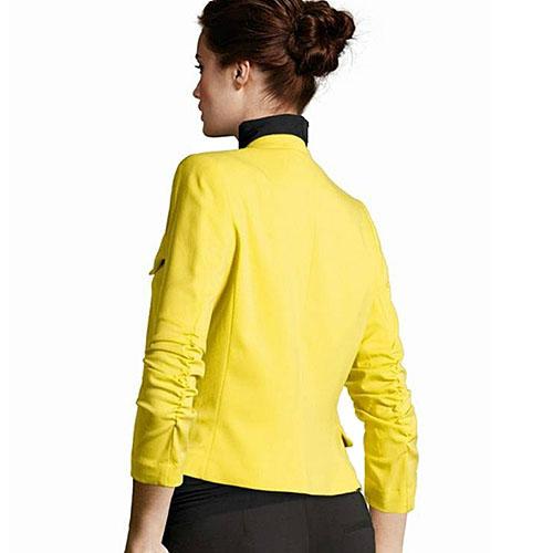 2016 Women s Korea Style Candy Color Solid Slim Suit Blazer Jacket Retail Wholesale 5AXG 7EY9