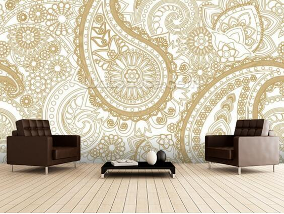 online get cheap paisley tapete alibaba group. Black Bedroom Furniture Sets. Home Design Ideas