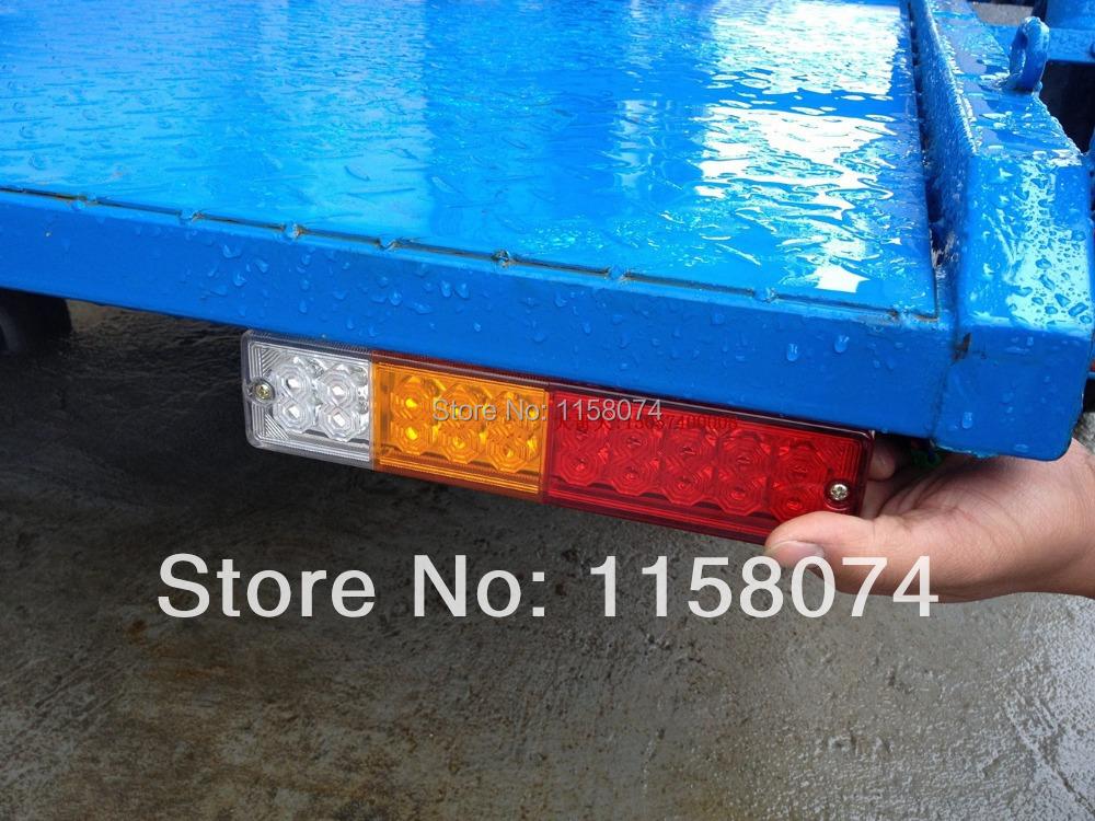 водонепроницаемые задние фонари для лодочных прицепов