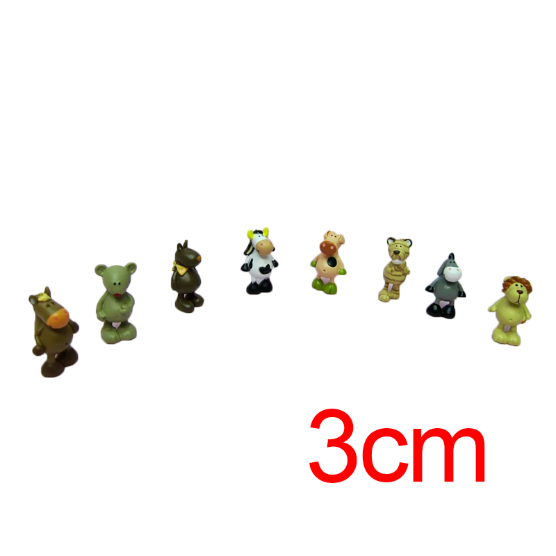 8Pcs/Leot Zoo Animals Lion Cow Donkey Action Figures Cute Doll Model Collections Cartooon Toys For Your Children Free Shipping<br><br>Aliexpress