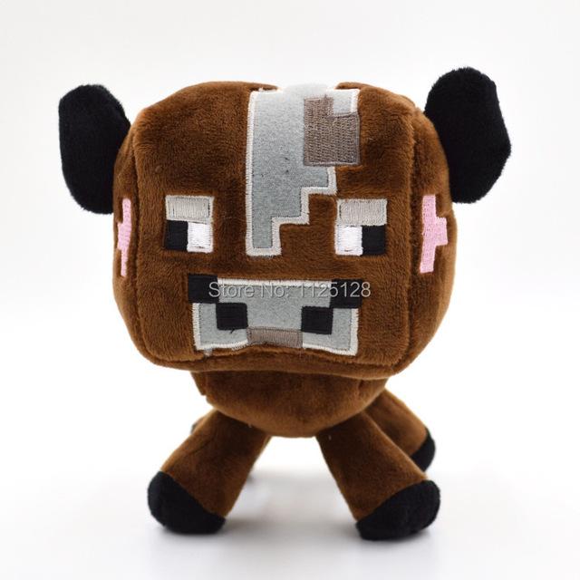 Новый Minecraft плюшевые игрушки 16 см высокое качество Minecraft плюшевые куклы ребенок корова для детей подарки