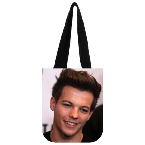 Nice Designed Handbag Custom Music Band One Direction Louis Tomlinson Tote Bag 03(China (Mainland))