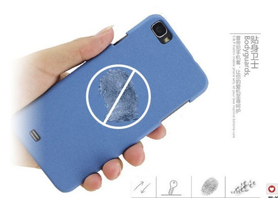 Screen protector & Sand feeling Matte Frosted Hard cover case for ZOPO C2 Phone