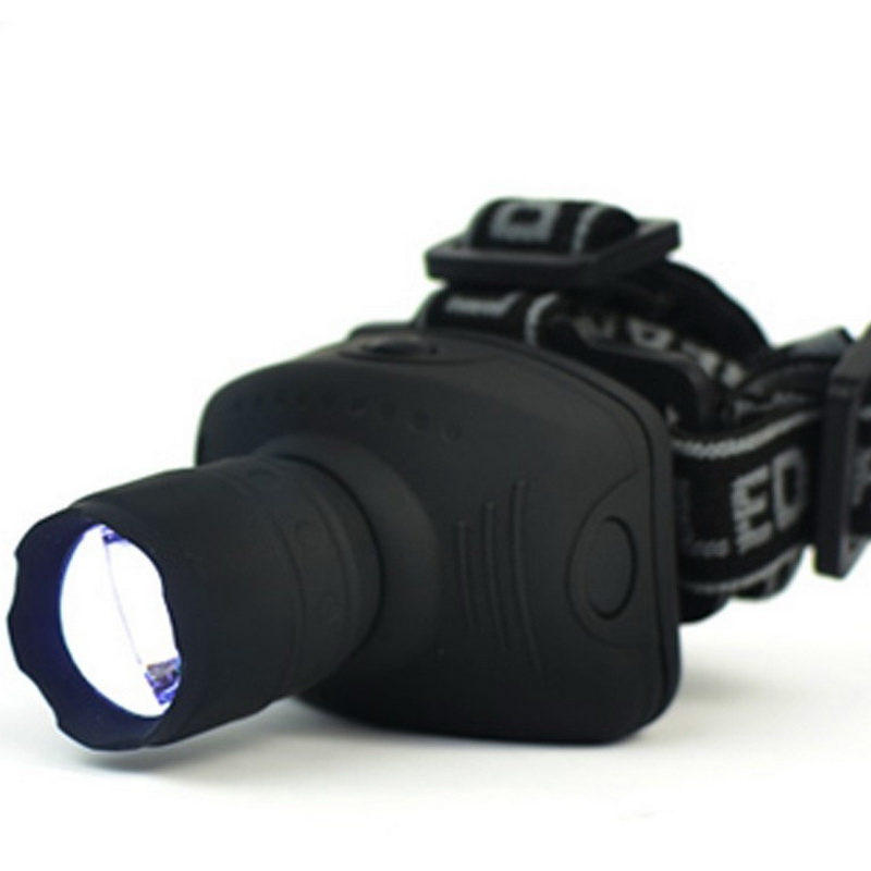 Free Shipping Arrival 3-Mode CREE Q5 1000 Lumen LED Zoomable Headlamp Head torch Light Lamp for 3*AAA battery(China (Mainland))