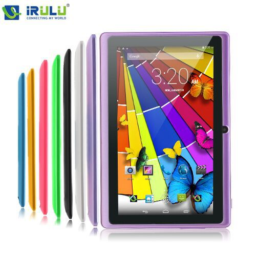 """IRULU eXpro 7"""" Tablet PC Android 4.2 8GB ROM Dual Core Dual Camera 1.5GHz OTG USB 3G WIFI Multi-Colors 2015 New Hot 9 10(China (Mainland))"""
