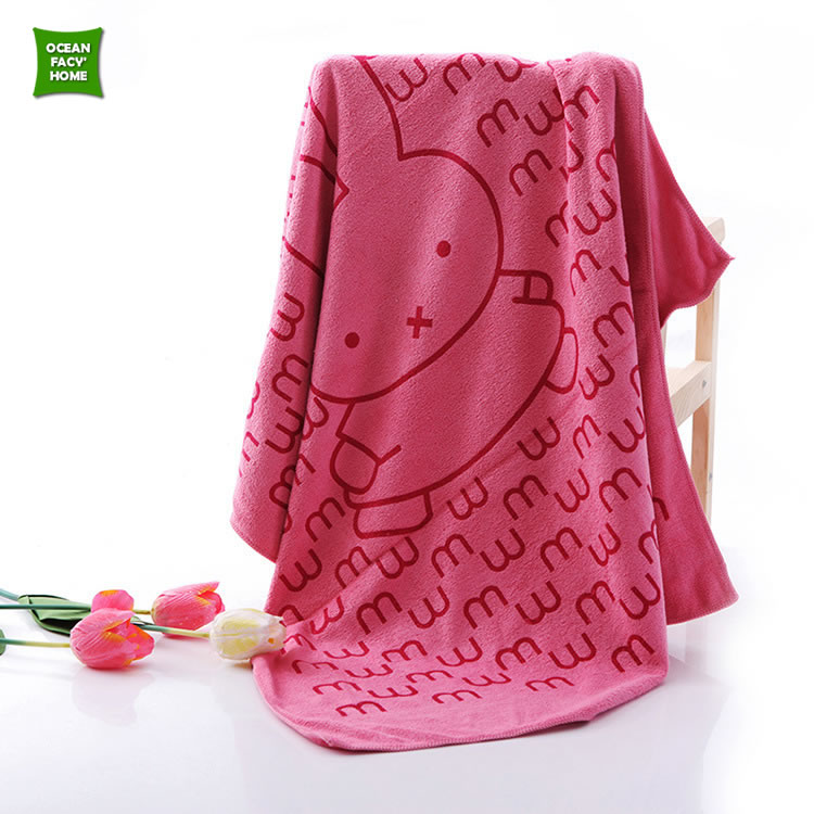2016 New Home Bath Towel Beach Face Hand Body Cotton Absorbing Towels For Adults Cute Animals Printed 70*140 cm 9 Styles Thicken(China (Mainland))
