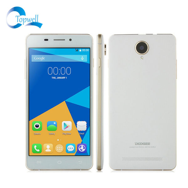 "Original Doogee F2 IBIZA MTK6732 Quad Core 1.5GHz Android 4.4 1GB RAM 8GB ROM 13.0MP 5.0"" OTG 4G FDD LTE Dual SIM Mobile Phone(China (Mainland))"