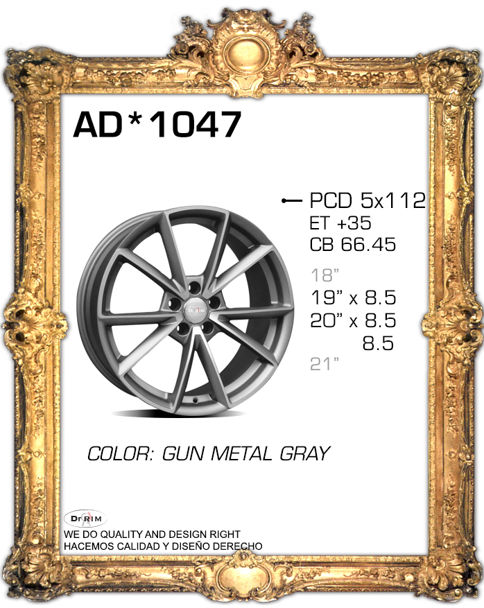 """19"""" X1 5X112 AUDI RS7 STYLE ALUMINUM ALLOY WHEEL RIMS BRAND NEW 2015 STYLE FITS AUDI V.W AND MANY MORE(China (Mainland))"""