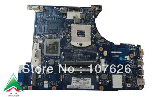 LA-7121P MBRFN02001 3830T laptop motherboard for ACER intel HM65 motherboard ddr3(China (Mainland))
