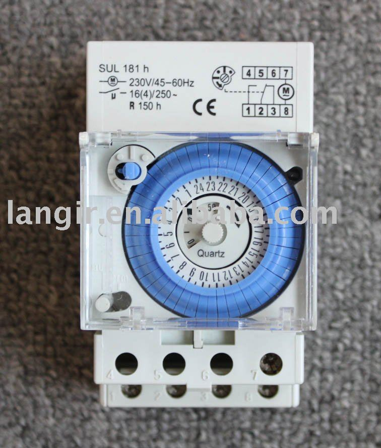 24h SUL 181H mechanical timer(time switches) with battery 100% guaranteed quality+lower price(China (Mainland))