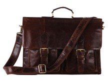 7105-2C J.M.D Rare Cowhide Leather Men's Briefcases Laptop Bag Dispatch Shoulder  Only For You(China (Mainland))