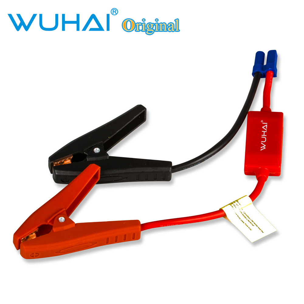 High quality clip cable for car emergency jump starter / Auto engine booster storage battery clamp cable(China (Mainland))