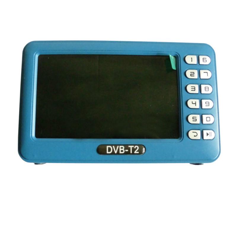 Digital DVB-T2T Mini Handheld TV with 4.3 inch LCD Screen  (1)