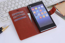 xiaomi mi3 m3 case Leather Case Cover Hight Quality Stand Wallet mobile cover For xiaomi m3 mi3 case