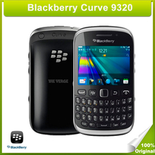 Original Unlocked BlackBerry Curve 9320 Mobile Phone 3.15MP Camera BlackBerry OS 7.1 ROM 512MB 2G GSM Network(China (Mainland))