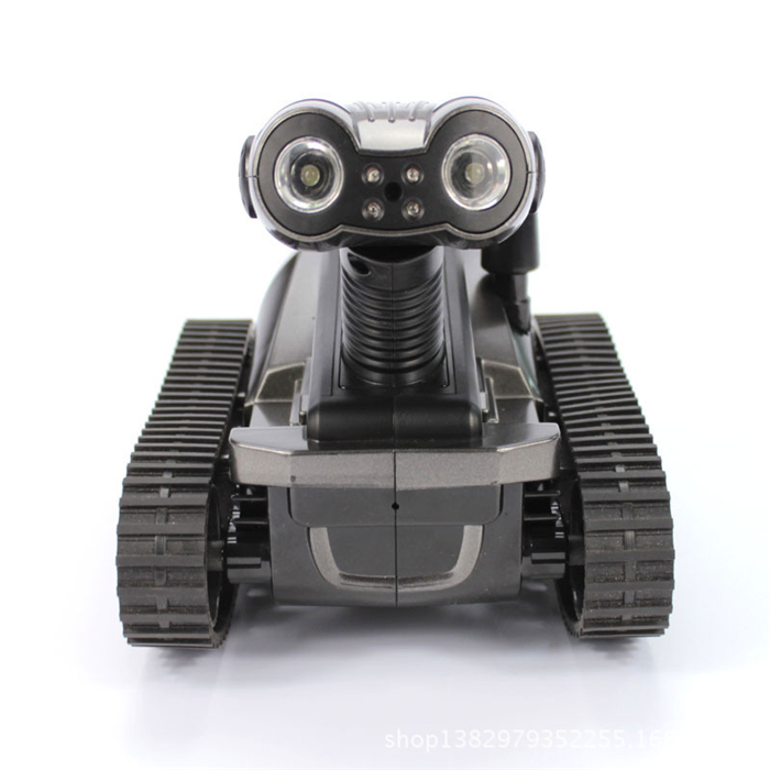 1 Piece Wifi Spy Remote Control RC Tank with Camera/High Bright LED Light/Night Vision/Video/Photos/Monitoring Spy