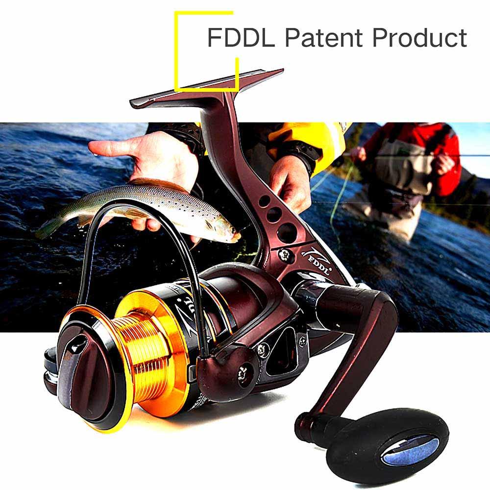 Hot Sale Super Technology Fishing Reel 10BB + 1 Bearing Balls 3000/5000 Series Spinning Reel Boat Rock Fishing Wheel(China (Mainland))