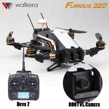 2016 Walkera Furious 320 RC Helicopter Drone With Camera 2.4G Devo7 Transmitter Quadcopter OSD GPS CFP Modular VS X350 Fast Ship(China (Mainland))