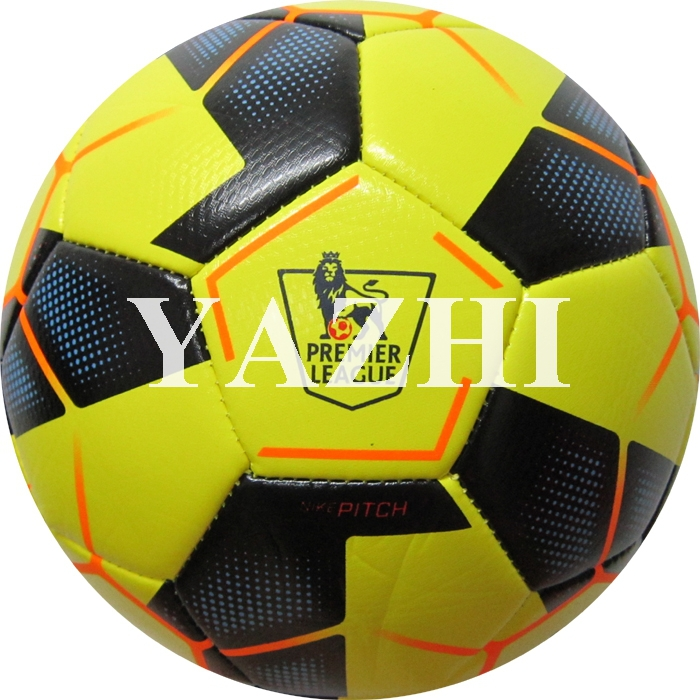 Hot Sale 2014-2015 Premier League Football PU Mechanically Stitched Ball Official Weight Size 5 Soccer Ball For Match Training(China (Mainland))