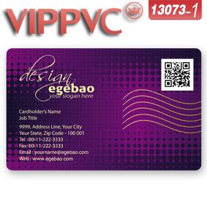 A13073-1 PVC tarjetas de visita para Una Sola cara de Impresión de tarjetas De Negocios transparente(China (Mainland))