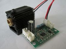 NEW 532nm 100mW Green Laser Module with Driver (808nm/532nm&660nm + TTL) +heat sink