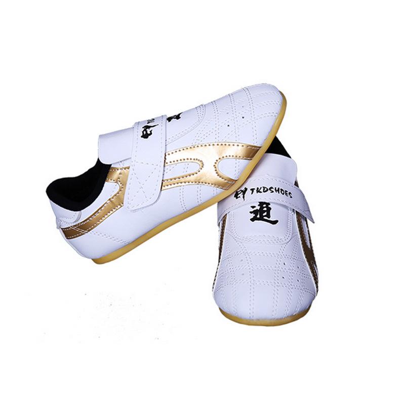 Classic Taekwondo Shoes Kids and Ault Martial Arts Breathable Shoes Kung Fu Wu Shu KarateTraining Shoes Fitness & Body Building