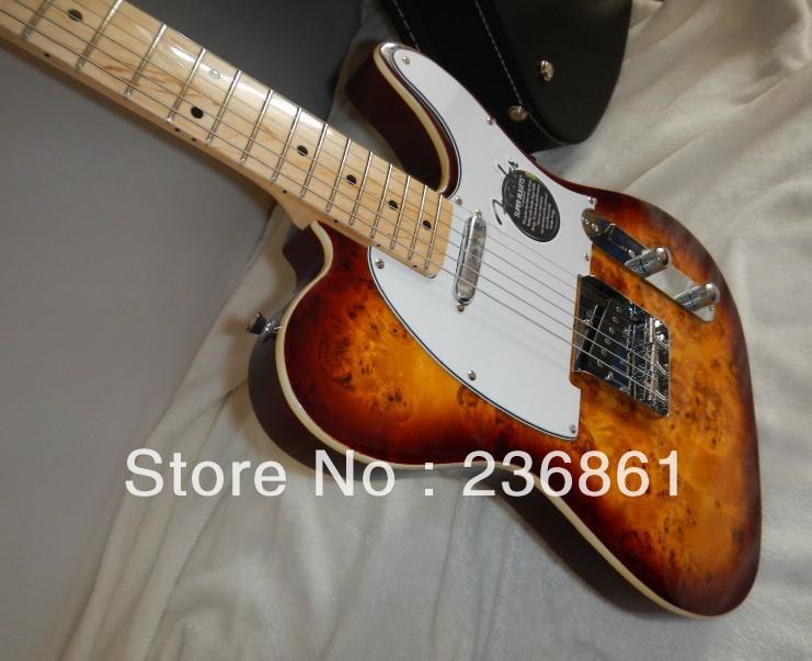 Wholesale - Custom SHOP Guitar Vintage Sunburst Maple fretboard tele electric guitar China Guitar(China (Mainland))