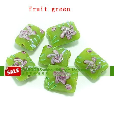 Jewelry accessories,peony coloured glaze, 55 pieces of/many, free shipping.(China (Mainland))