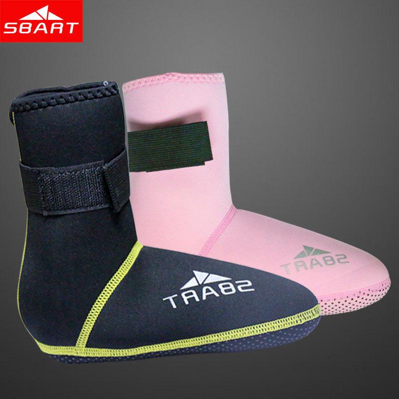 SBART Neoprene Socks 3MM Diving Socks Swim Dive Boots Women And Men Adult Water Sports Snorkeling Scuba Diving Equipment Sale N(China (Mainland))