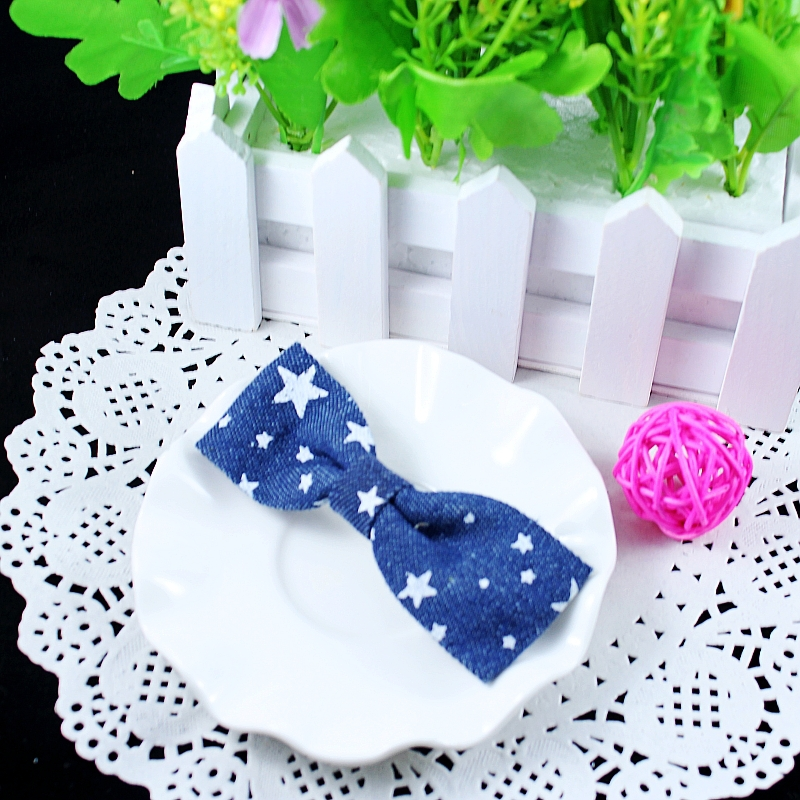 Baby Kids Acessorios Para Cabelo Children 2015 Top Fashion New Layer Dotted Dark Bowknot Headwear/ Lovely Girl Hair Acessories(China (Mainland))