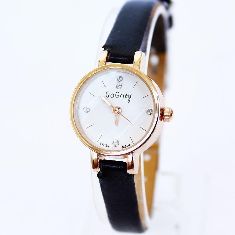 genuine new gogoey watches wholesale korean fashion pu
