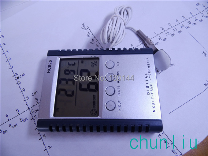 c-9 digital indoor outdoor thermometer measuring temperature meter hygrometer nice humidity - chunliu store