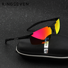 Buy Kingseven Brand Men Glasses Polarized Coating Sunglasses Men Sun Glasses Women Goggles Night Vision Driving Sunglass 7523 for $11.98 in AliExpress store