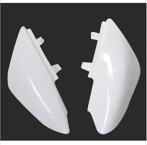 White CRF50 Motorcycle Plastic Rear Fender Dirt Pit Bike Back Plate(China (Mainland))