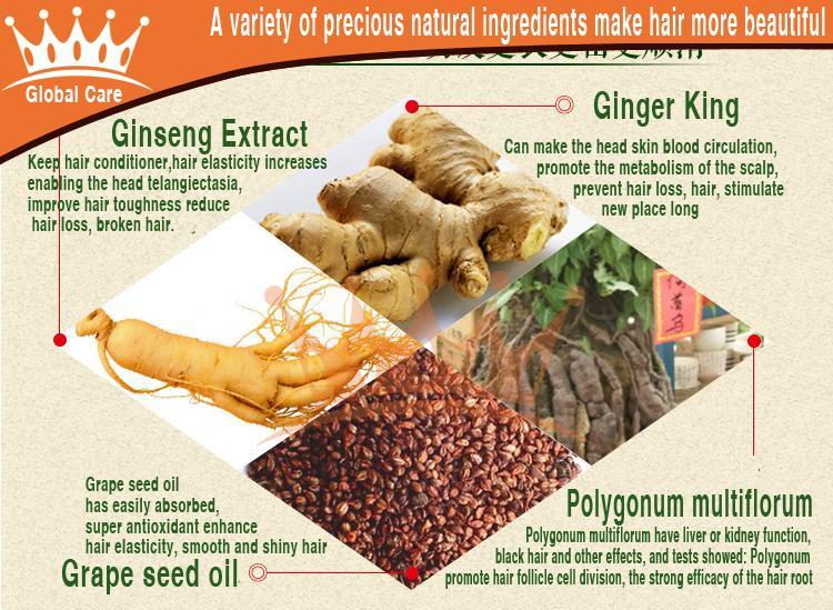 3 garrafas Authentic crescer crescimento do cabelo caspa reparação creme de cabelo evitar a perda emissão cuidados brilhante brilho