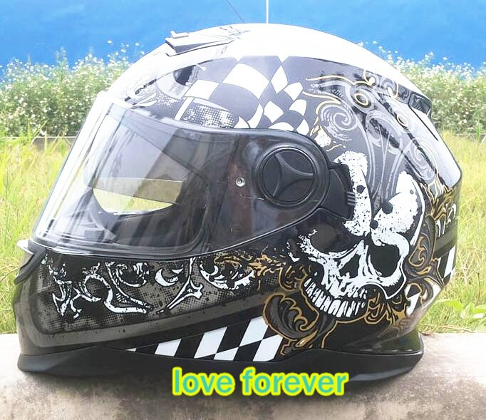 Motorcycle helmet full face Japan arai helmet Male and female knight run motorcycle helmets warm all season